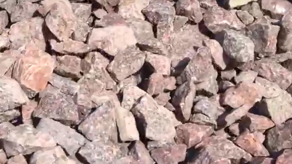 Фракции гранитного щебня
